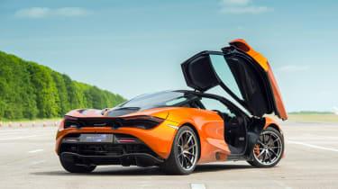 DMS McLaren 720S - rear
