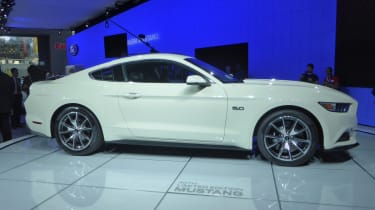 Ford Mustang 50th Anniversary New York motor show