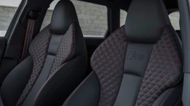 Audi RS3 Sportback Grey interior 1