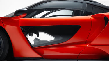 McLaren Senna - door light