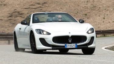 2013 Maserati GranCabrio MC front