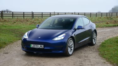 Tesla Model 3 MY21 - front static