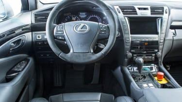 Lexus TMG TS-650 interior dashboard