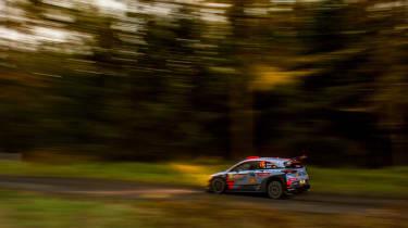 WRC Rally Wales - i20