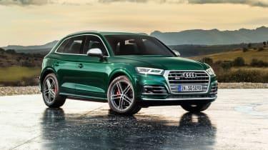Audi SQ5 TDI - front quarter