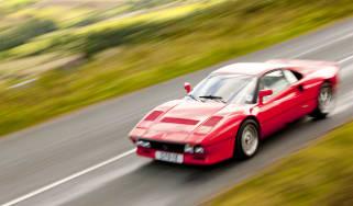 Ferrari 288 GTO driving