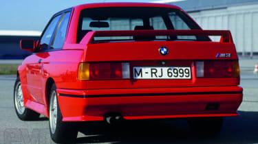 BMW E30 M3 rear