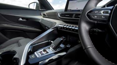 Peugeot 3008 GT centre console