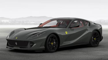 Ferrari 812 Superfast configured grey 1