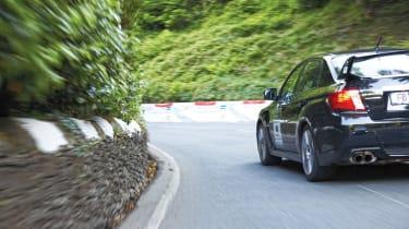 Subaru Impreza STI support vehicle