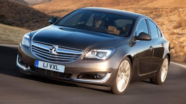 New 2013 Vauxhall Insignia front lights