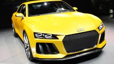 Frankfurt motor show 2013 Audi Sport Quattro