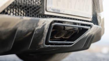 Honda NSX - pipes