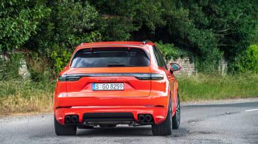 Porsche Cayenne GTS  – rear
