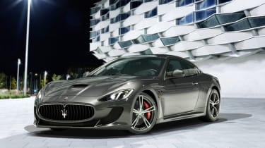 Maserati GranTurismo MC Stradale details and pictures