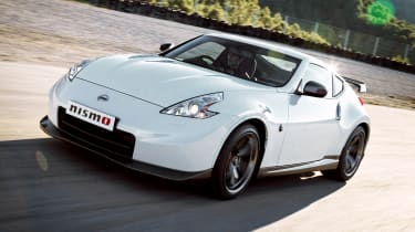 2013 Nissan 370Z Nismo white front