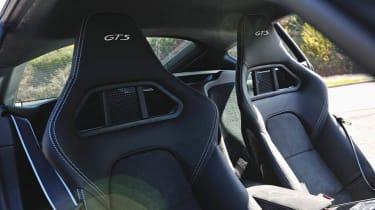 Porsche Cayman GTS seats