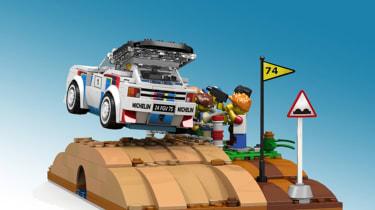 LEGO Peugeot 205 T16 - rear