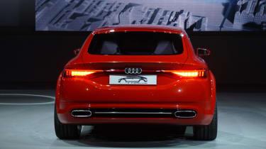 Audi TT Sportback at the 2014 Paris motor show