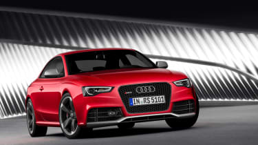 New Audi RS5 coupe