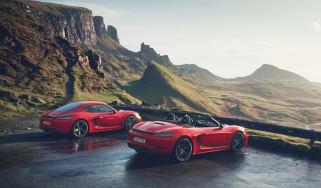 Porsche Boxster T rear