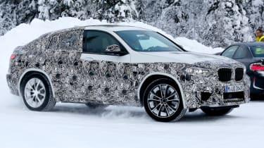 BMW X4 M development car - Front