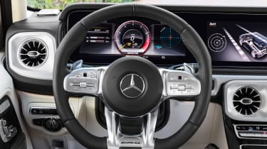 Mercedes-AMG G63 – steering wheel