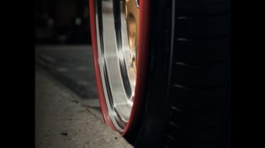 Tyre with Rimfinity Wheel Protection
