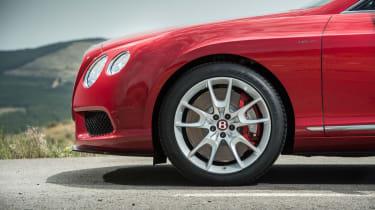 Bentley Continental GT V8 S wheel