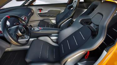 Kia GT4 Stinger concept car interior