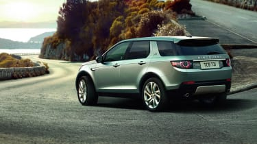 Land Rover Discovery Sport cornering