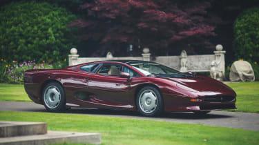 Jaguar XJ220 Monza Red