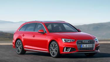 Audi A4 refresh 2018 - static