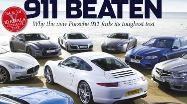 evo issue 168 new Porsche 911 beaten