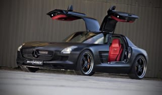 Mercedes SLS AMG 'Black' by Kicherer, front three-quarter picture