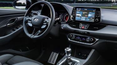 Hyundai i30 N  - interior dash