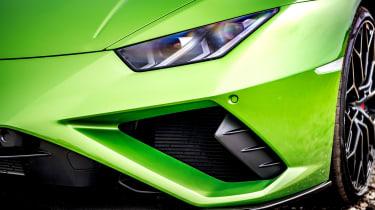 Lamborghini Huracán Evo RWD – headlight