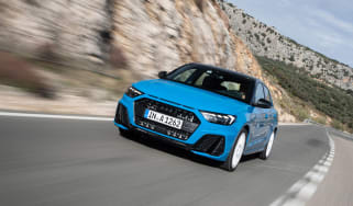 Audi A1 First Edition - blue front