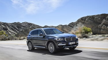 BMW X3 xDrive30d - front driving