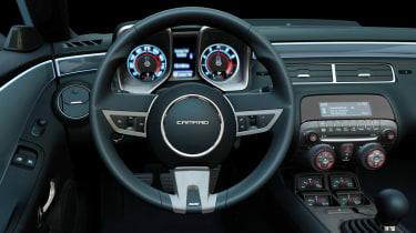 Chevrolet Camaro SS interior