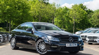Mercedes-Benz C63 AMG Coupe – front quarter