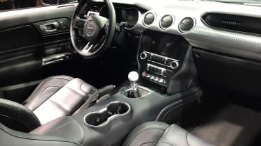 Ford Mustang Bullitt – interior