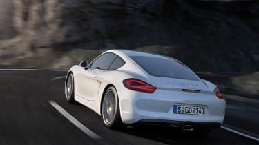 2013 Porsche Cayman rear