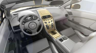 Aston Martin V12 Vantage Zagato R-Reforged interior