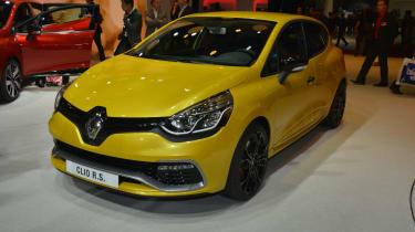 RenaultSport Clio 200 Turbo at the Paris motor show