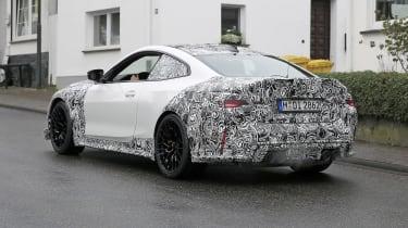 BMW M4 CSL spy 2021 – rear