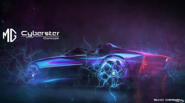 MG Cyberster Roadster - rear quarter 1
