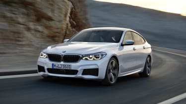 BMW 6-series GT - front
