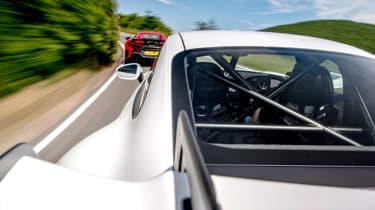 992 GT3 group test – rear bolt on