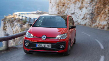 Volkswagen Up GTI 2018 head on